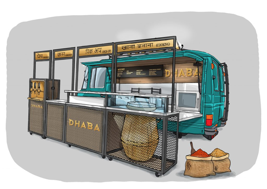 Dhaba_tech_illustration5_Colored_UnfoldedKitchen